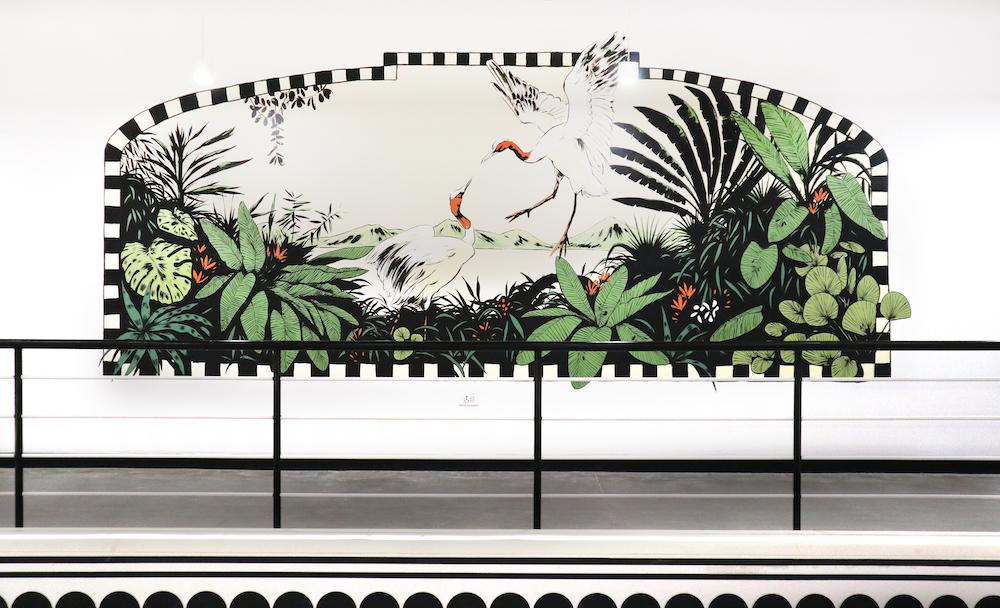 wework, india, mural, art