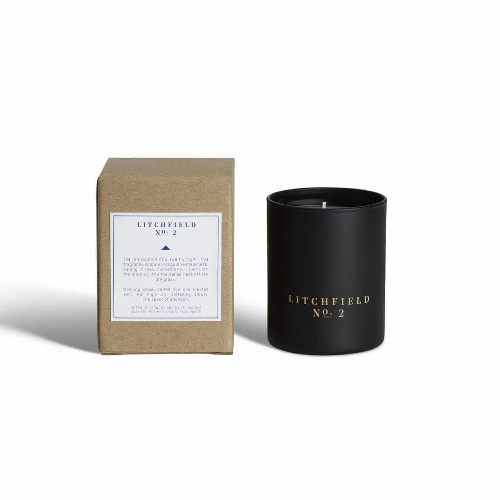 Litchfield Soy Candle No.2 with Packaging