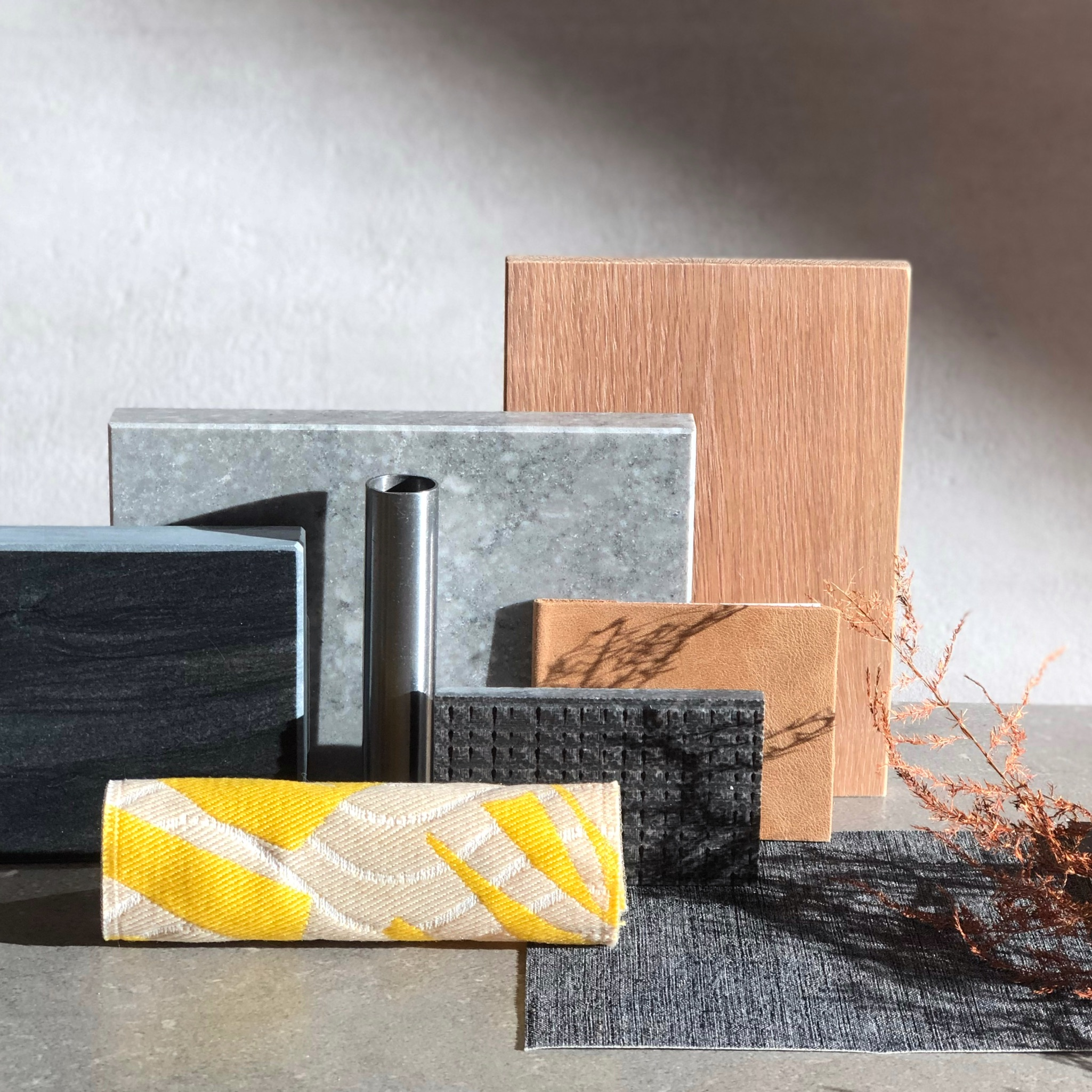 LIV Design's materials shows off the colour of the year.