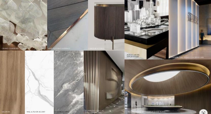 visually led design